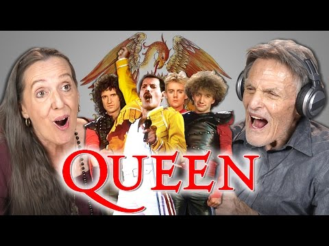 Senior Citizens React to Queen