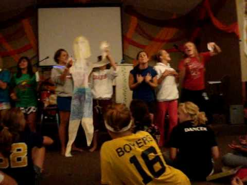 talent show at Miracle Camp