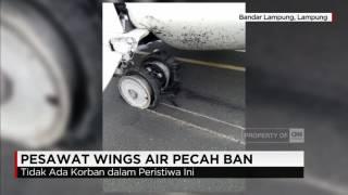 Pesawat Wings Air dengan nomor penerbangan IW 1286 dengan rute Bandung-Tanjungkarang, mengalami pecah ban saat mendarat. Tidak ada korban jiwa dalam insiden ...