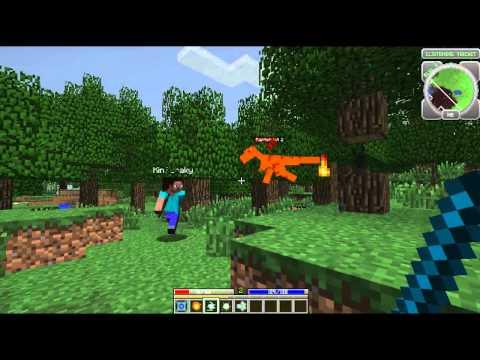 Minecraft: Hack / Mine Part 1 cu Radu, BarBariaS si KinZuraky