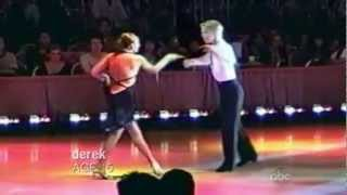 DWTS- Derek and Julianne Hough and Mark Balllas as teenagers.