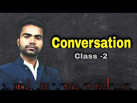 Conversation class-1 (Abhijeet and Satya) in Hello English, Bikramganj