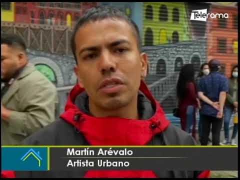 Crean la ruta de los murales arte urbano en Cuenca