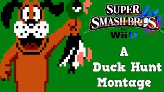 Smash Bros. Duck Hunt Montage