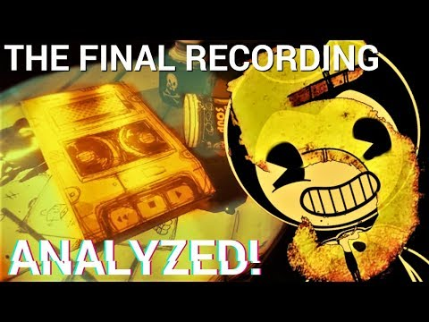 Linda's identity finally REVEALED?! (Bendy Chapter 5 Audio Teaser 3 Analyzed)
