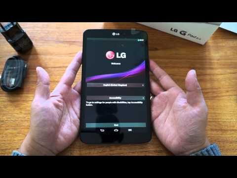 Unboxing LG G Pad 8.3 [german | deutsch]