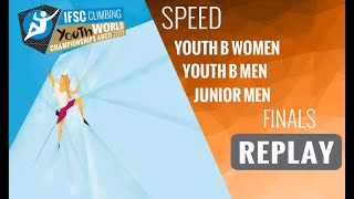 IFSC Youth World Championships - Arco 2019 -SPEED- Finals -Youth B Women -Youth B Men - Junior Men by International Federation of Sport Climbing