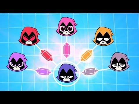 "DC Nation - Teen Titans Go! - ""Colors of Raven"" (clip)"