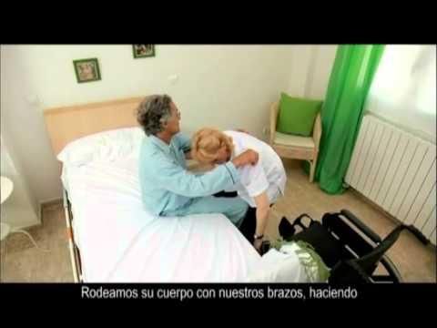 11 – Pasar de la cama a la silla de ruedas