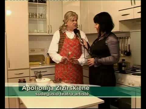ZIZIRSKIENE DERLIAUS KRAITE - Pyragas is sudziuvusios duonos