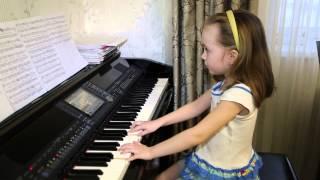 Тополя. Дети поют. Виктория Викторовна 6 лет.