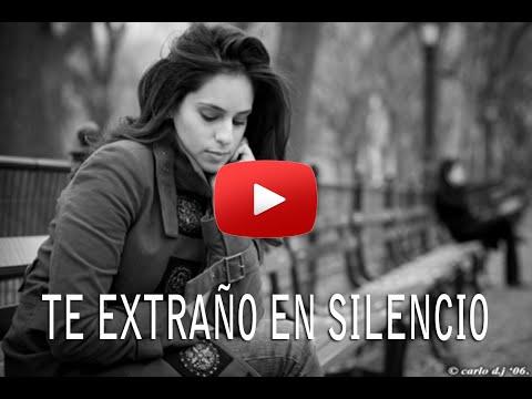 Lil Pacs - Te Extraño En Silencio (Historias Parecidas) 2014