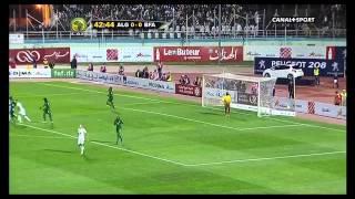 Football, barrage de qualification de la coupe du monde au Brésil 2014. Match retour Algérie contre Burkina Faso en HD sur...