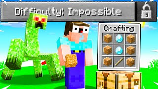 "NOOB Beat Minecraft on Fundy's ""IMPOSSIBLE"" Difficulty... (First Try)"