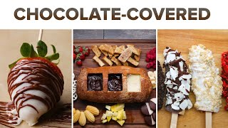 Chocolate-Covered Fruit Snacks by Tasty