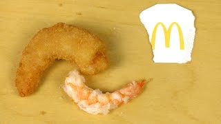 These are coated Shrimps by McDonald's