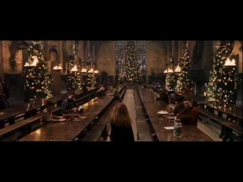 Harry Potter and the Philosopher's Stone - christmas at Hogwarts (HD)