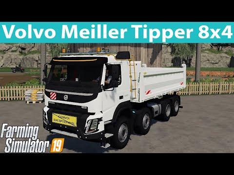 Volvo Meiller Tipper 8x4 v1.0.0.0