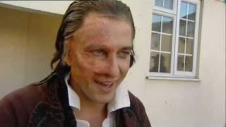 This is a video clip which shows Gerard Butler from the 2004 film Phantom of the Opera, having the Phantom's disfigurement and ...