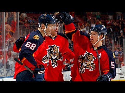 Video: Jagr scores 1st goal with Panthers, ties for 5th all-time