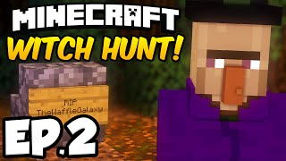 Minecraft: WITCH HUNT Ep.2 - THE WITCH'S APPRENTICE STRIKES AGAIN!!! (Minecraft Adventure Map)