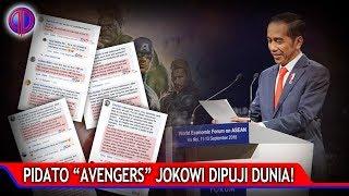 Video Mantap! Pidato Avengers Jokowi Dipuji Dunia! MP3, 3GP, MP4, WEBM, AVI, FLV September 2018