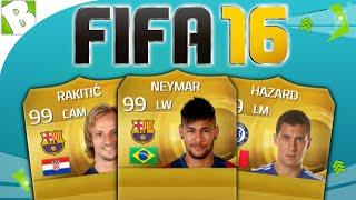 FIFA 16 PLAYER PREDICTIONS w/ Ivan Rakitic, Eden Hazard & Neymar | Deutsch, neymar, neymar Barcelona,  Barcelona, chung ket cup c1, Barcelona juventus