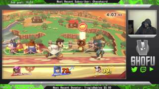 Smash Wii U Glitch – Marth Moonwalk