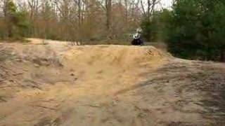 8. CANAM DS 650 Jump