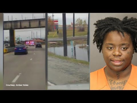 Woman Strips Down Naked While Police Chase Her