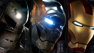 Top 10 Iron Man Armors - YouTube