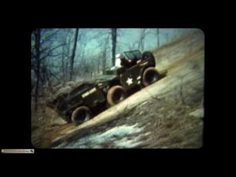 CORVAIR POWERED MILITARY GAMMA GOAT ALL TERRAIN VEHICLE