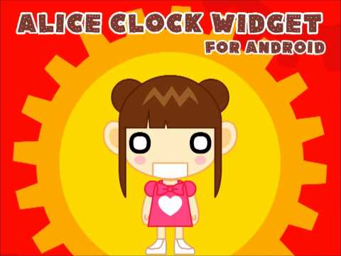 Video of Clock Widget Alice Full Ver.