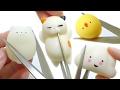 ASMR Cutting Moni Moni Animal Squeeze Squishy [No Talking]