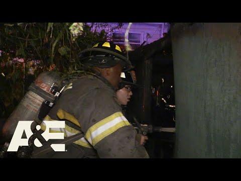 Live Rescue: Shed Catches Fire - Part 2 (Season 3) | A&E