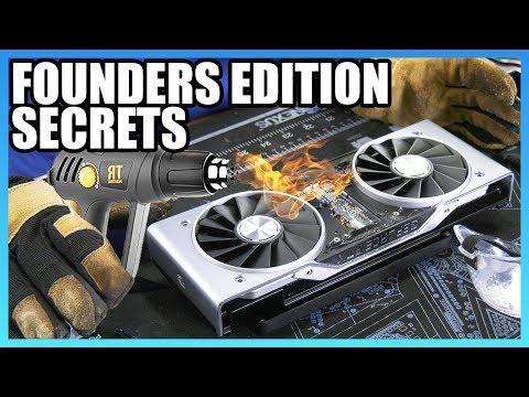 RTX FE Cooler Tear-Down & Secrets of NVIDIA's Apple-Like Design онлайн видео
