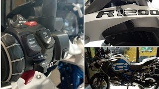 3. BMW R1200GS - Specifications || GIRL ON MOTORCYCLE