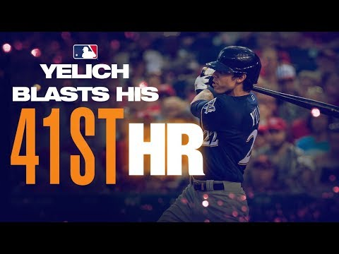 Video: Yelich hits HRs No. 40 and 41 in epic slugfest in D.C.