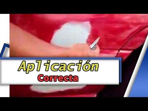 Tutorial como aplicar correctamente pasta automotriz