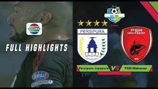 Persipura Jayapura (1) vs (1) PSM Makasar - Full Highlight   Go-Jek Liga 1 Bersama Bukalapak
