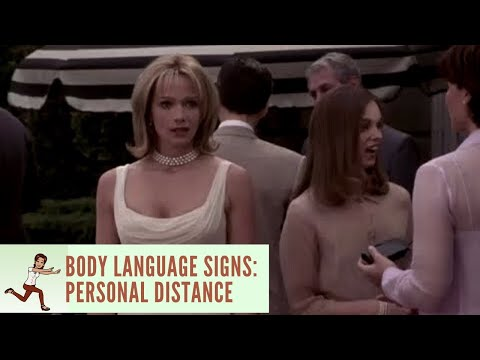 Body Language Signs: Personal Distance - What Women Want, 2000