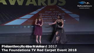 Parveen Minocha wins the Foundations TV Philanthropic Work Award