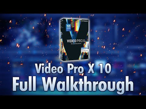 Magix Video Pro X 10 Released! (Full Walkthrough)