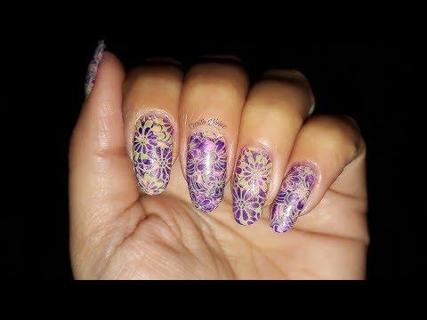 Decorados de uñas - #BeautyBigBang #BornPrettyStore #NicoleDiary Diseño de uñas floral y Smooshy