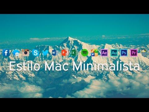 Configura Nexus Dock estilo Mac Minimalista | BIEN EXPLICADO