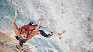 Sasha DiGiulian Climbs 5.14b (8c) Full Equip, T1, Oliana by Sasha DiGiulian