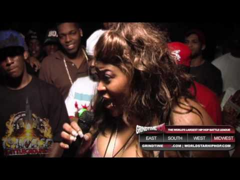 chicago battlegrounds - Chicago Battlegrounds Vol 4: Lady Pharroh vs L Streetz.