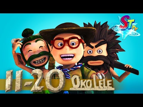 Oko Lele - Full Episodes collection (11-20) - animated short CGI - funny cartoon - Super ToonsTV