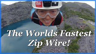 The Worlds Fastest Zip Wire! by The Climbing Nomads