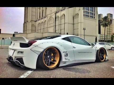 Top 5 Ferrari 458 Italia Body Kits